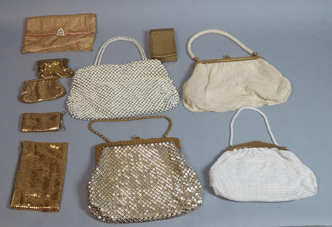 10pc Vintage Mesh Hand Bags Change purses. 3 off