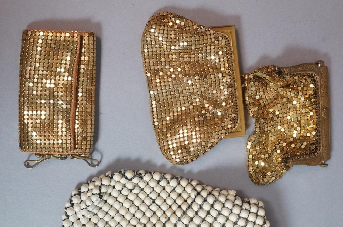 10pc Vintage Mesh Hand Bags Change purses. 3 off - 5