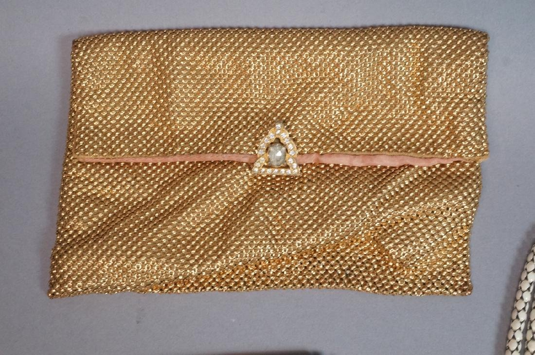 10pc Vintage Mesh Hand Bags Change purses. 3 off - 6