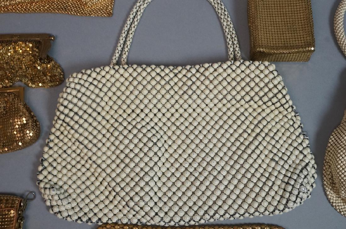 10pc Vintage Mesh Hand Bags Change purses. 3 off - 7