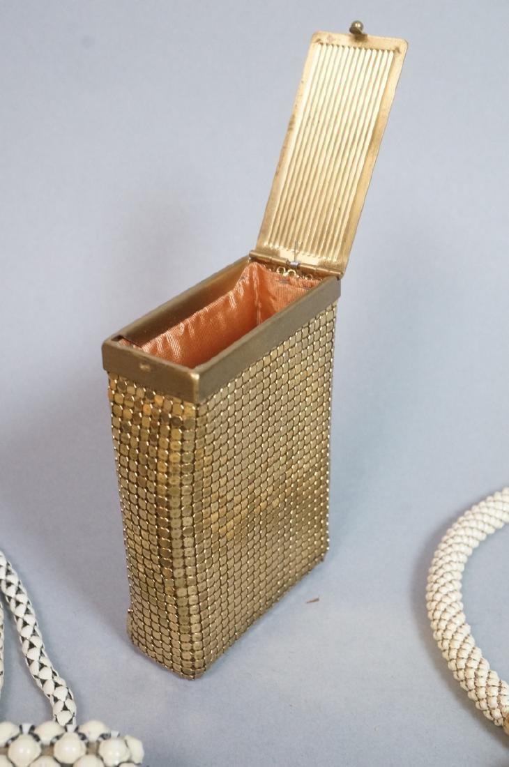 10pc Vintage Mesh Hand Bags Change purses. 3 off - 8