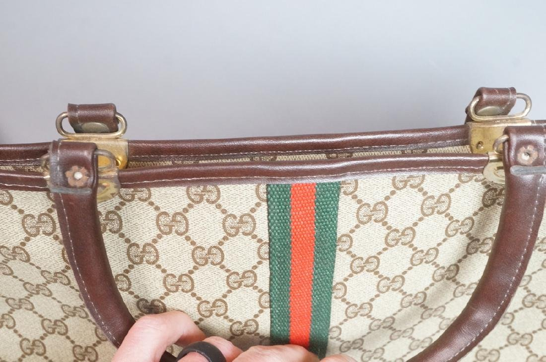 2 pc GUCCI Logo Bag Suitcase. Two strap handles s - 3