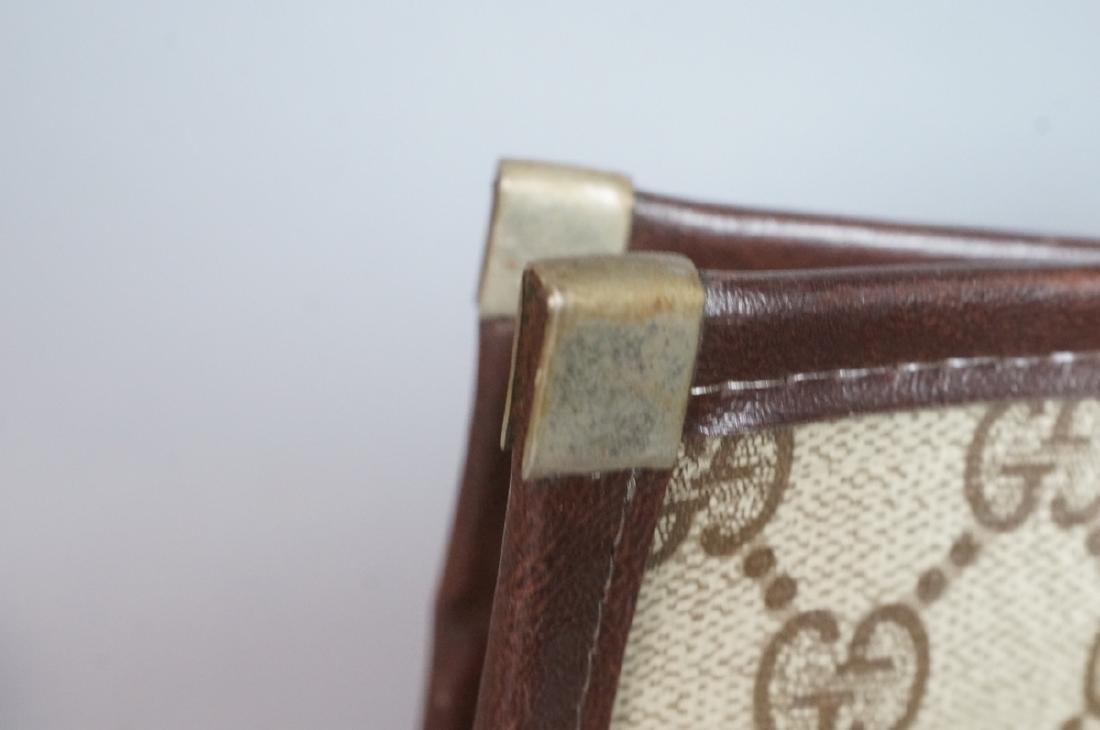 2 pc GUCCI Logo Bag Suitcase. Two strap handles s - 5