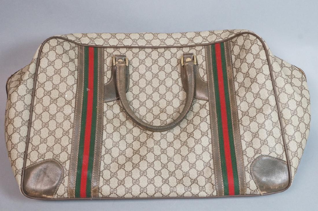 2 pc GUCCI Logo Bag Suitcase. Two strap handles s - 6
