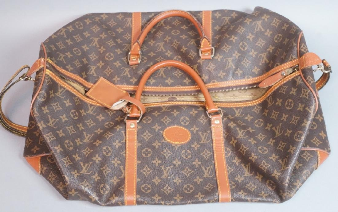 Medium LOUIS VUITTON Paris Duffle Bag. Hand strap