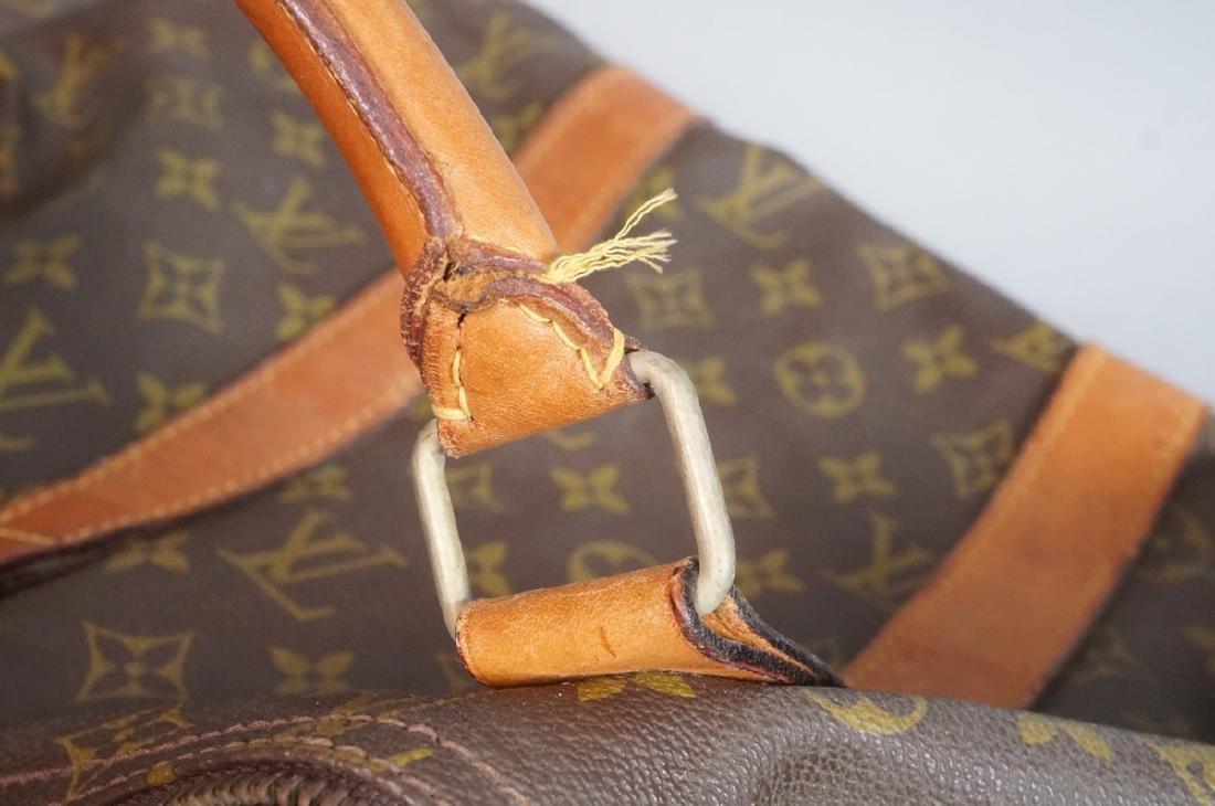 2 LOUIS VUITTON Duffle Bags. Hand straps. - 10