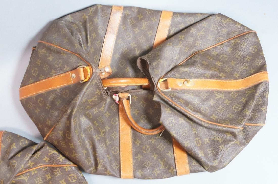 2 LOUIS VUITTON Duffle Bags. Hand straps. - 2