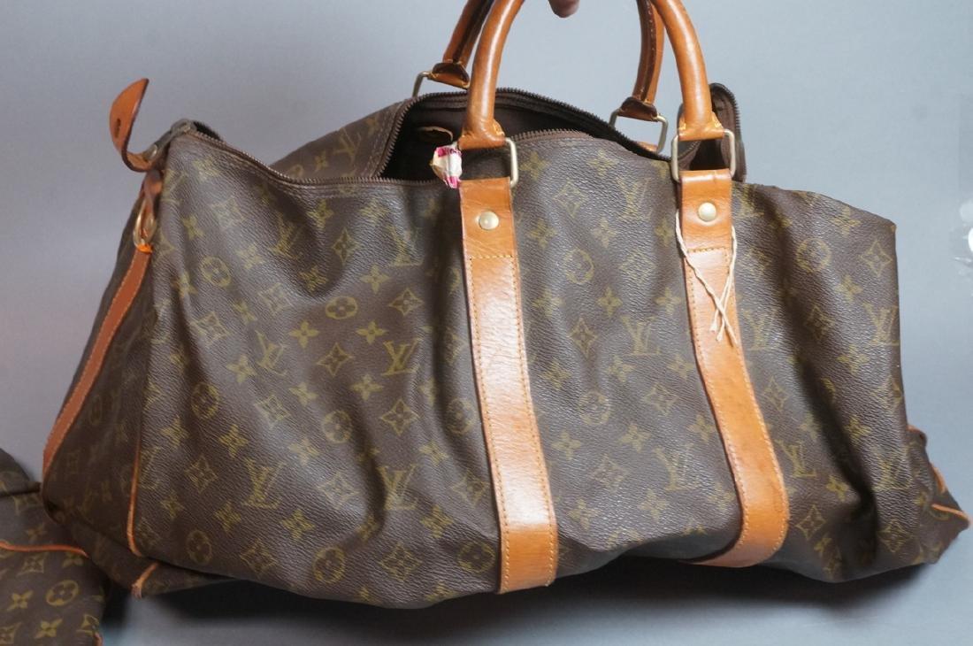 2 LOUIS VUITTON Duffle Bags. Hand straps. - 3