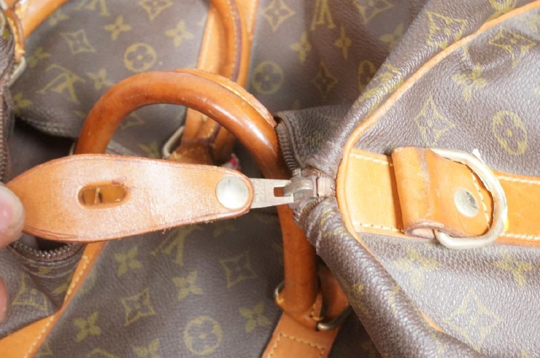 2 LOUIS VUITTON Duffle Bags. Hand straps. - 5