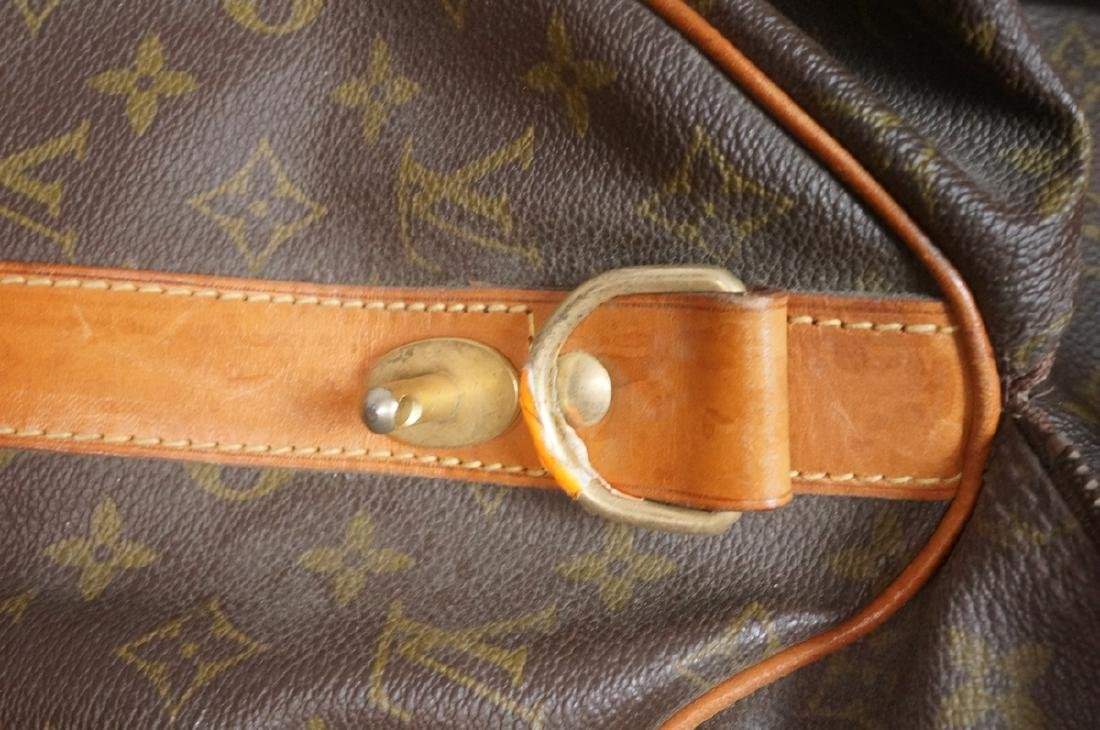 2 LOUIS VUITTON Duffle Bags. Hand straps. - 6