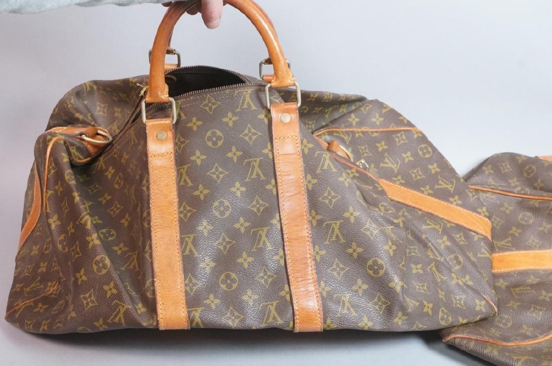2 LOUIS VUITTON Duffle Bags. Hand straps. - 7