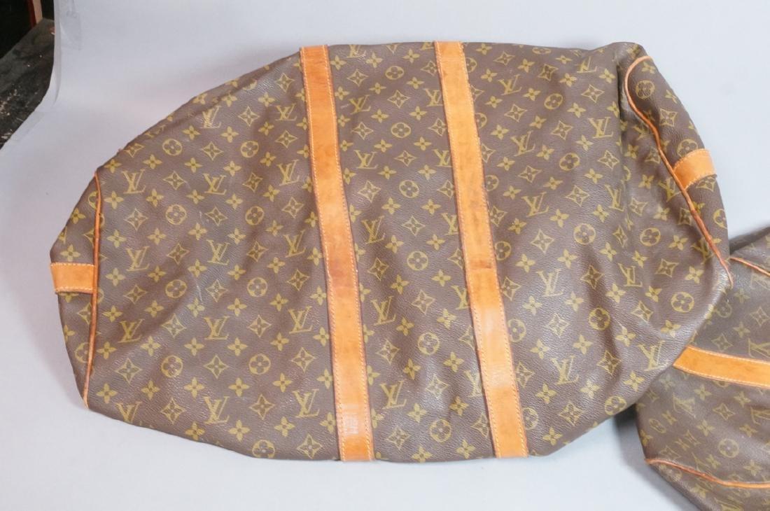 2 LOUIS VUITTON Duffle Bags. Hand straps. - 8