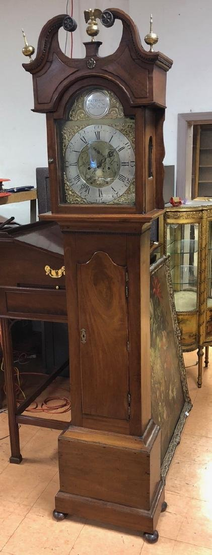 Antique William Dobie Falkirk Tall Case Clock.  S