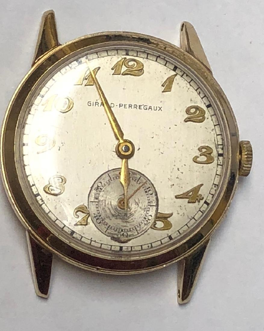 Girard Perregaux 14K Gold  watch Currently runs a