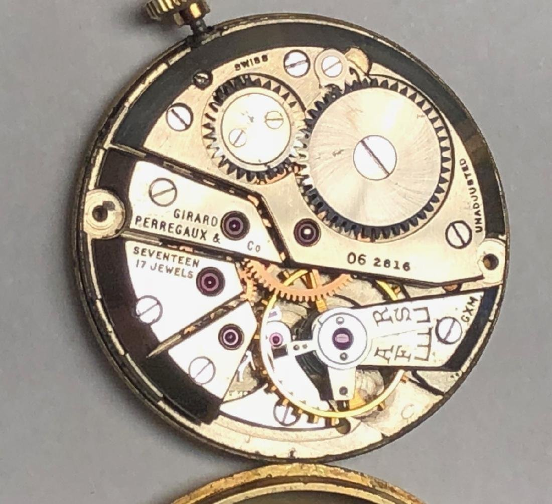 Girard Perregaux 14K Gold  watch Currently runs a - 2