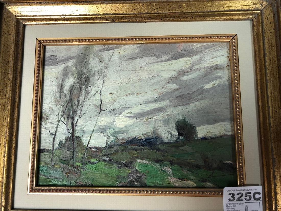 Chauncey Foster Ryder Oil Painting.  Impressionis