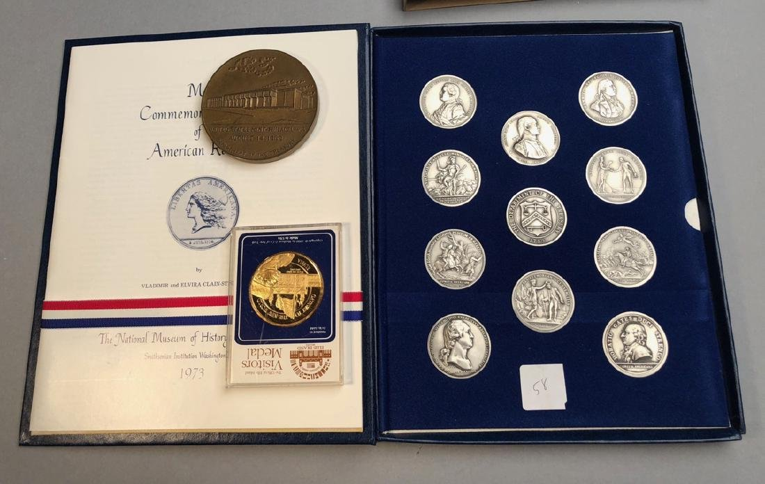 Medals.  America's First Medals Boxed Set.  1973