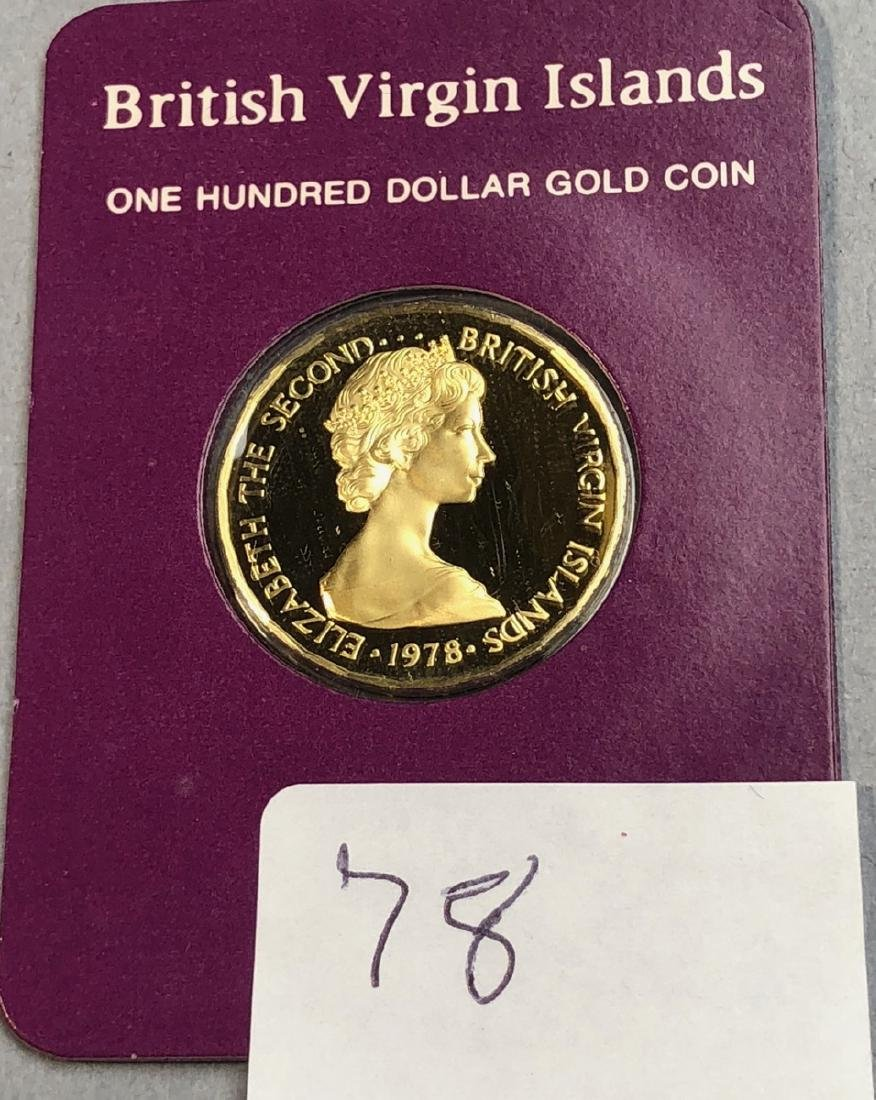 1978 British Virgin Islands One Hundred Dollar Go