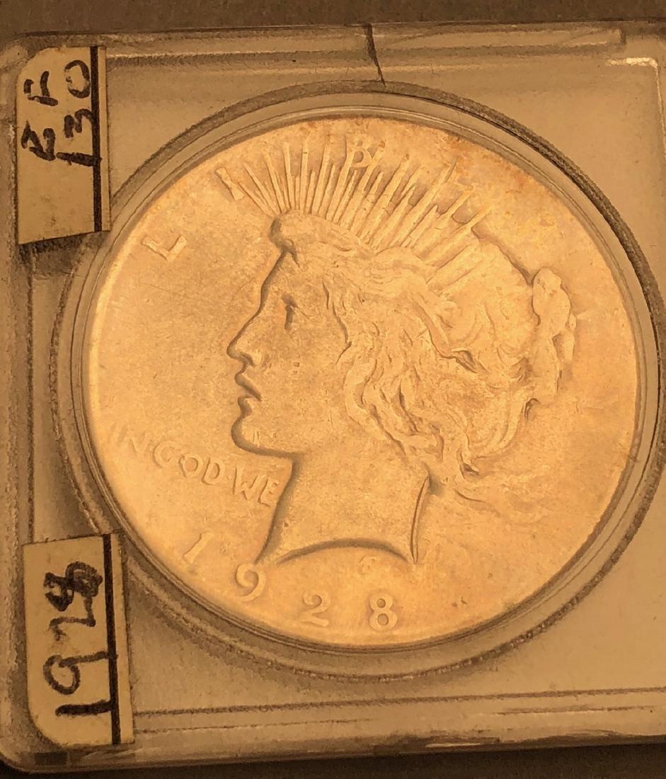 3pcs American Silver Dollars.  1921 Morgan, 1921 - 2