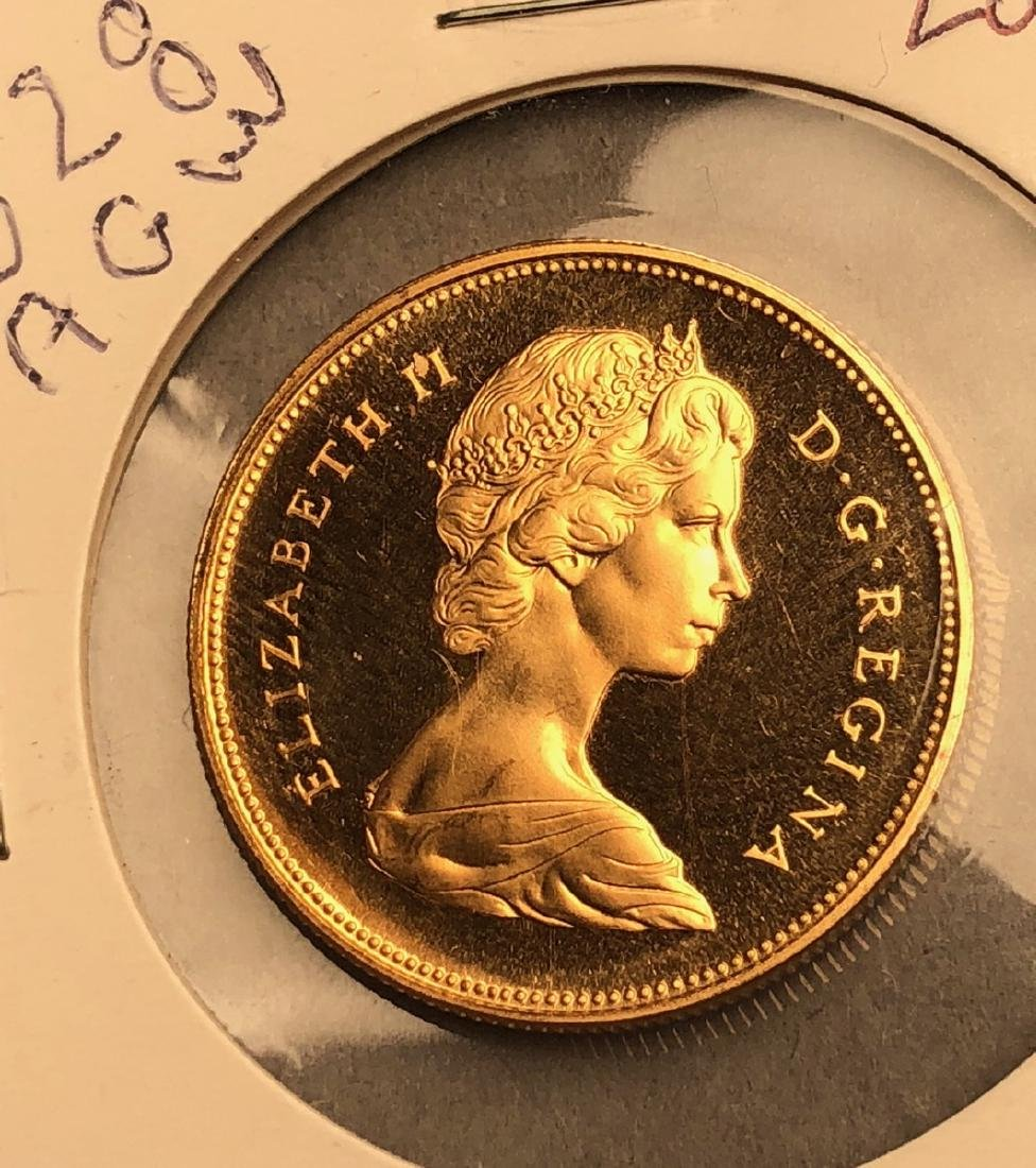 1967 Canada 20 Dollar Gold Coin.  Elizabeth II