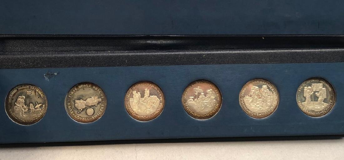 Men In Space Series Sterling Proof Set.  First ed