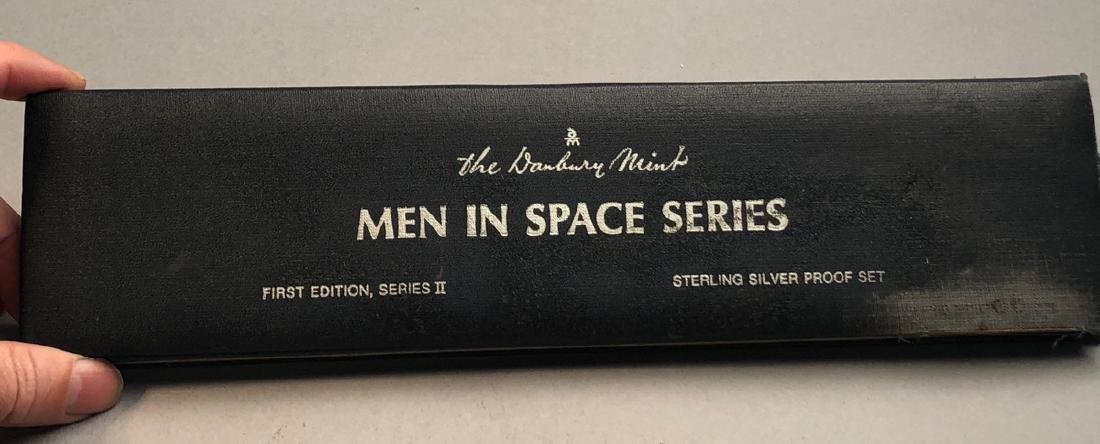 Men In Space Series Sterling Proof Set.  First ed - 2