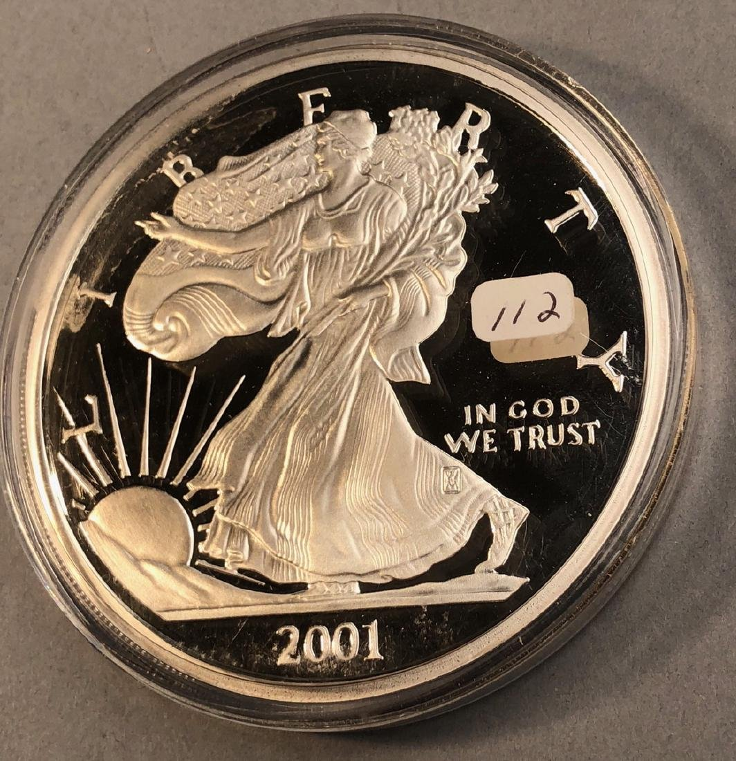 2001 One Half Pound  American Eagle Walking Liber