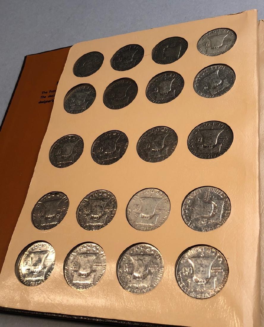 Complete Set of American Franklin Silver Half Dol - 4