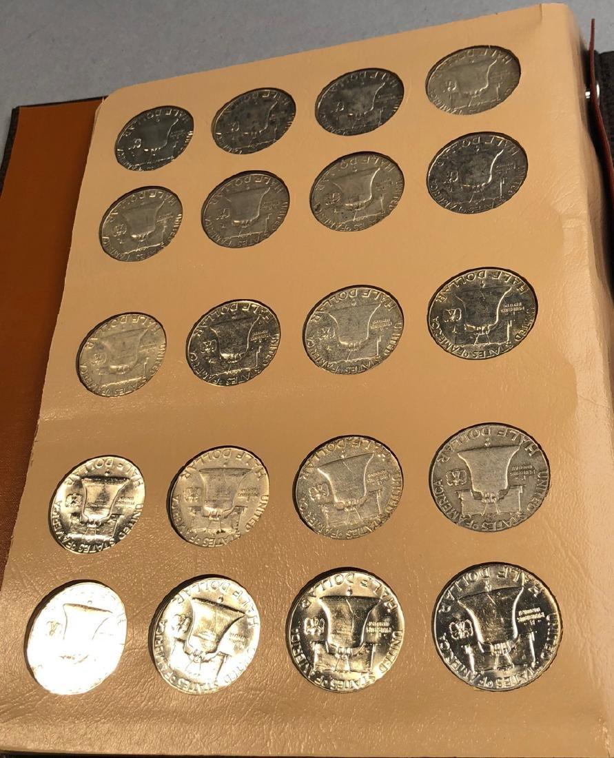Complete Set of American Franklin Silver Half Dol - 5