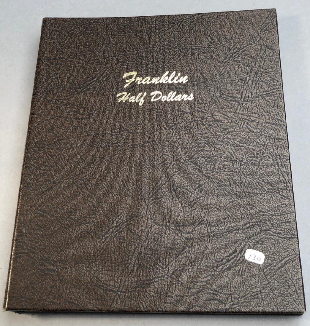 Complete Set of American Franklin Silver Half Dol - 6