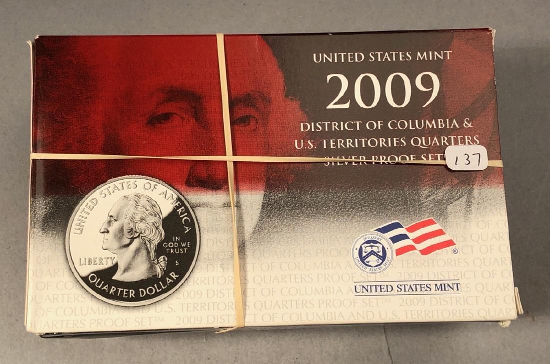 2004-2009 Statehood Silver Quarters PROOF sets - 2