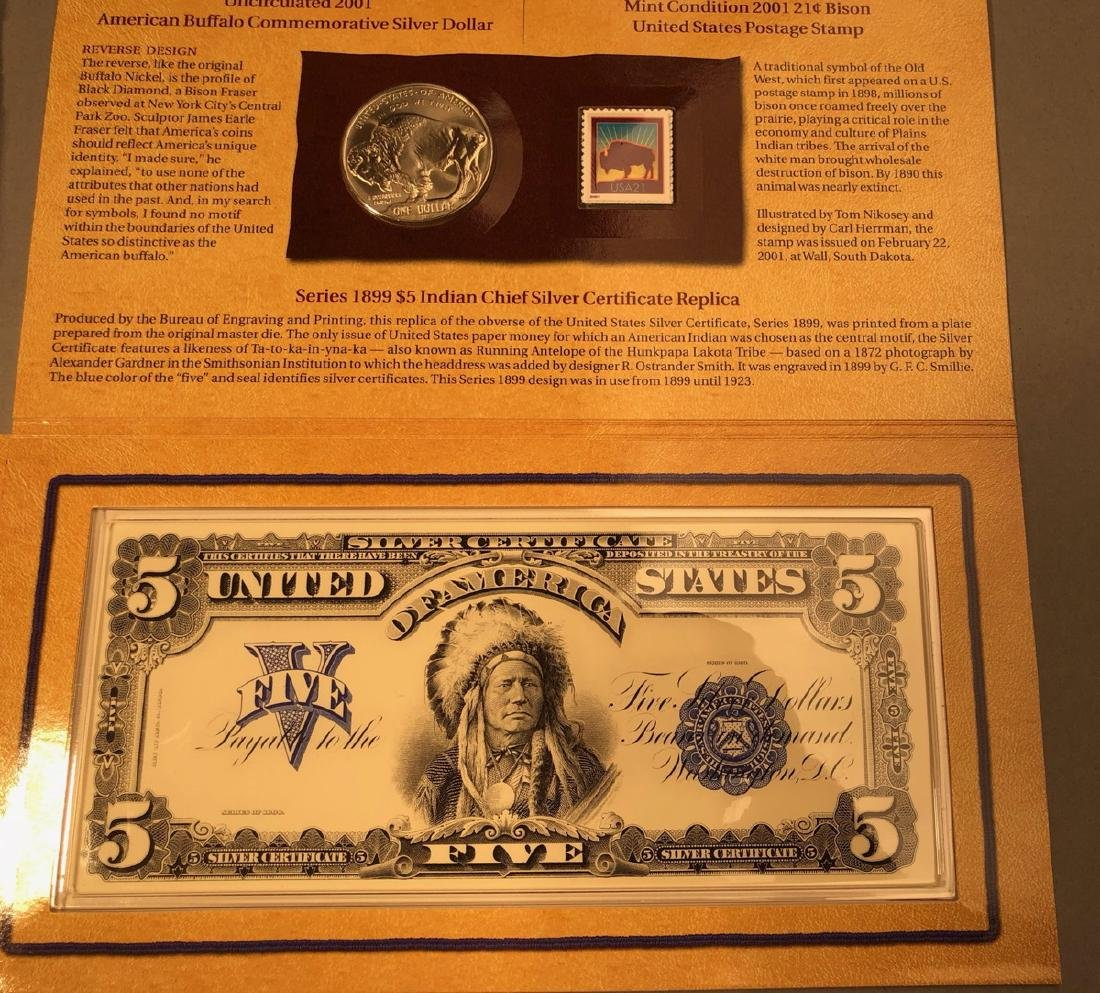The American Buffalo Coin and Currency Set