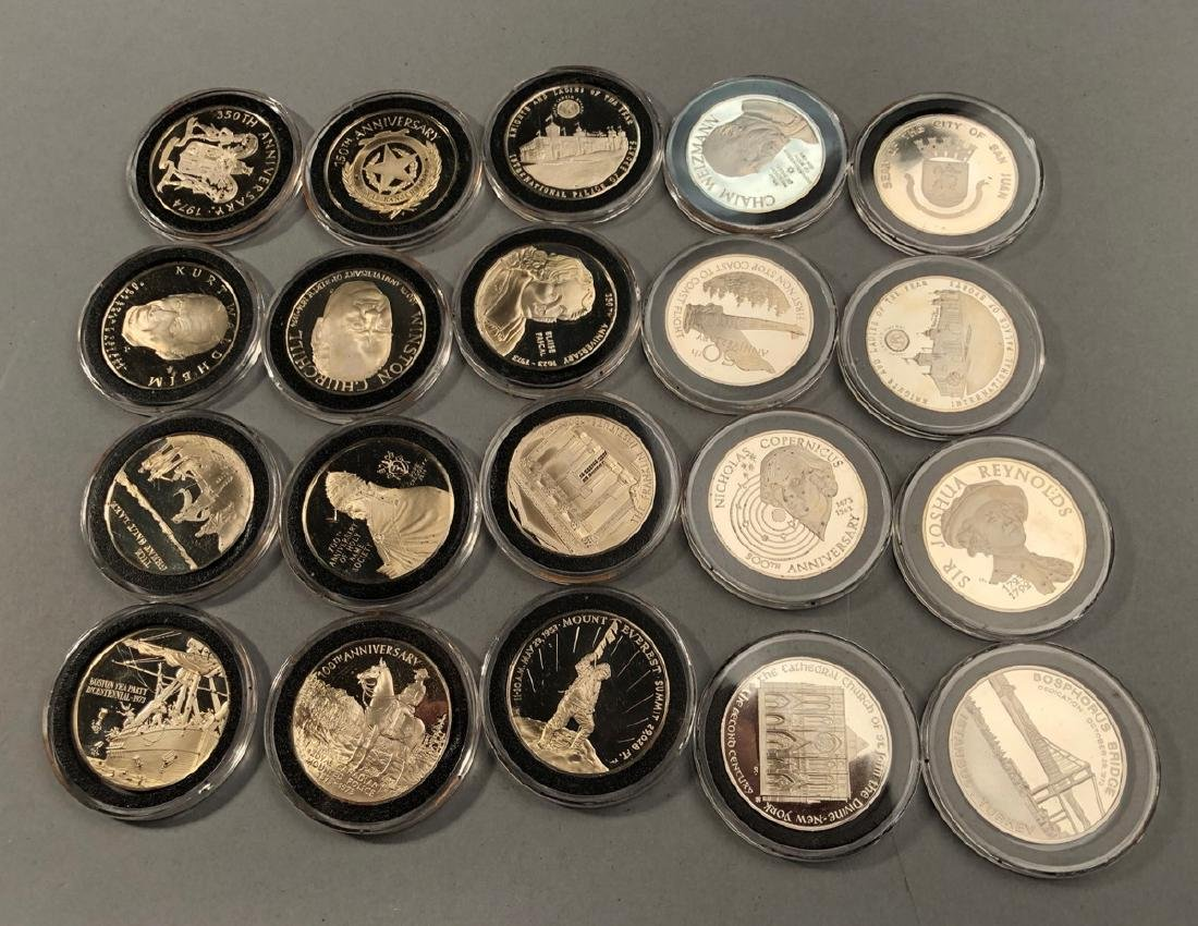 20 Sterling Silver .9 Ounce Coins