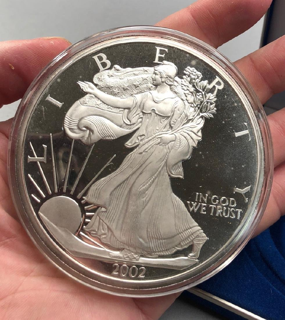 1 Pound .999 2002 Silver Eagle