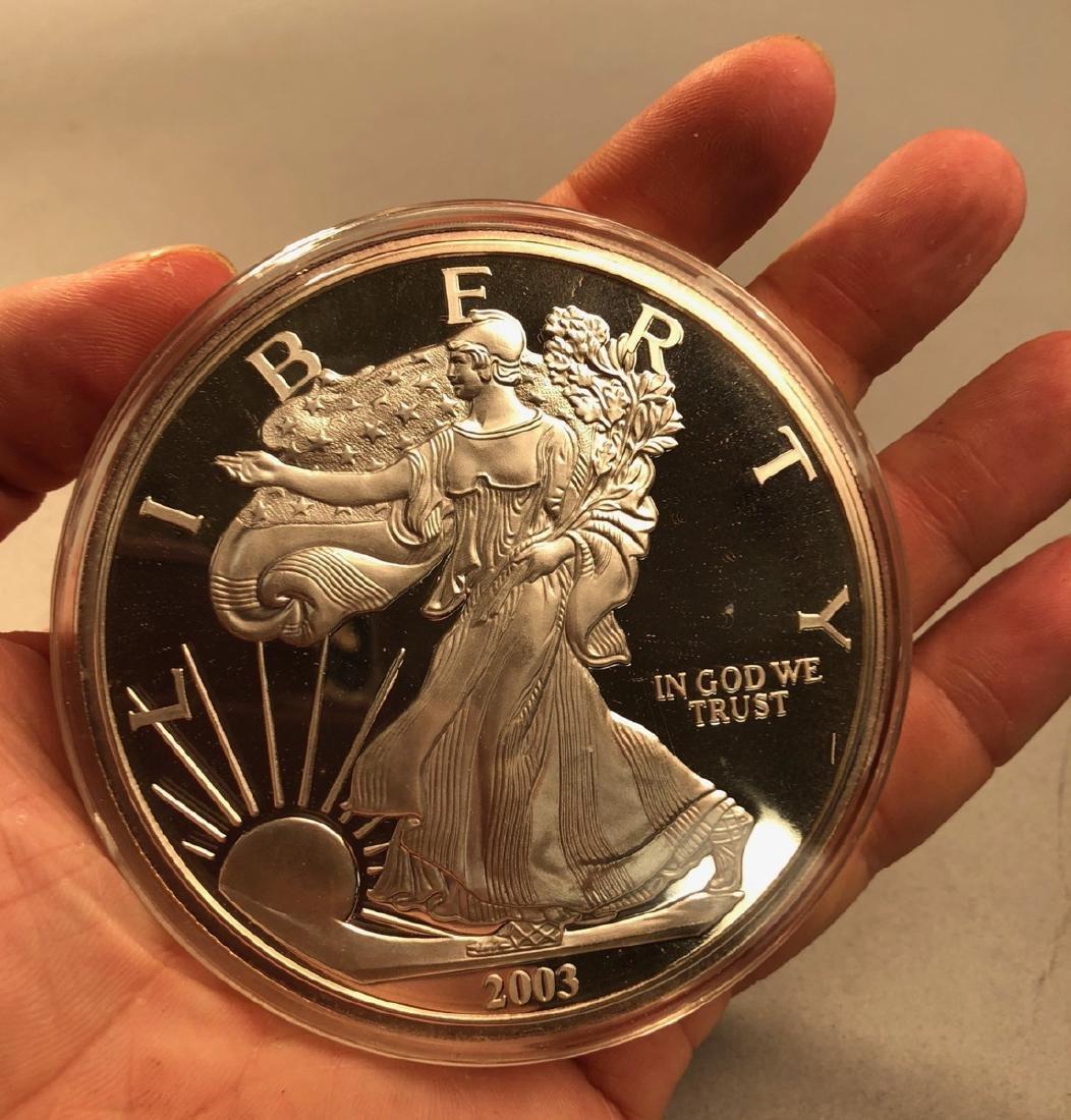 1 Pound .999 2003 Silver Eagle