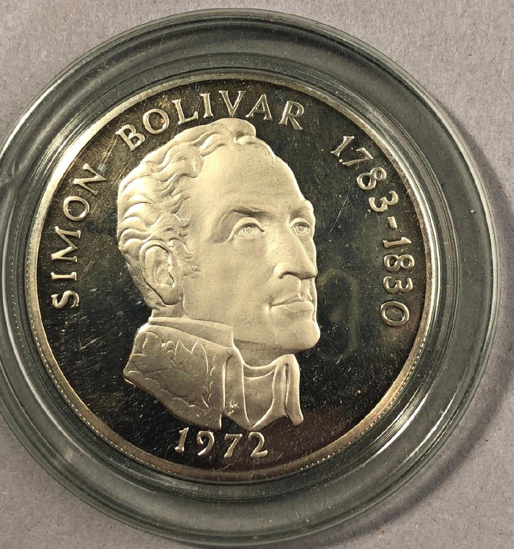1972 Rep of Panama 20 Balboa Proof. .925 Sterling