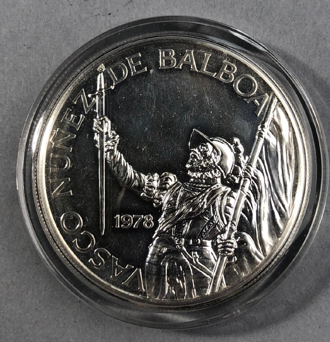 1978 Rep of Panama 20 Balboa Proof. .925 Sterling