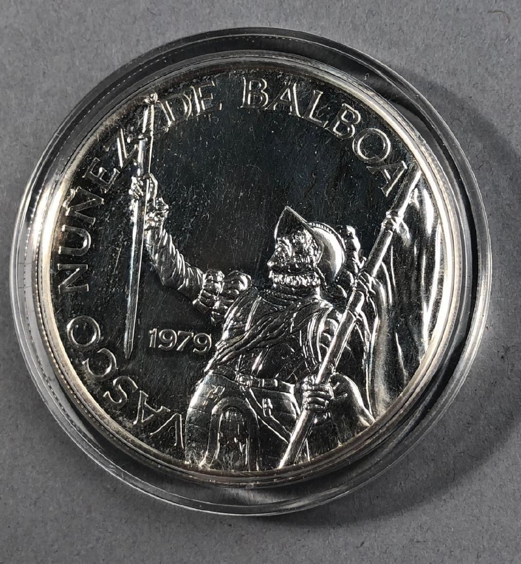 1979 Rep of Panama 20 Balboa Proof. .925 Sterling