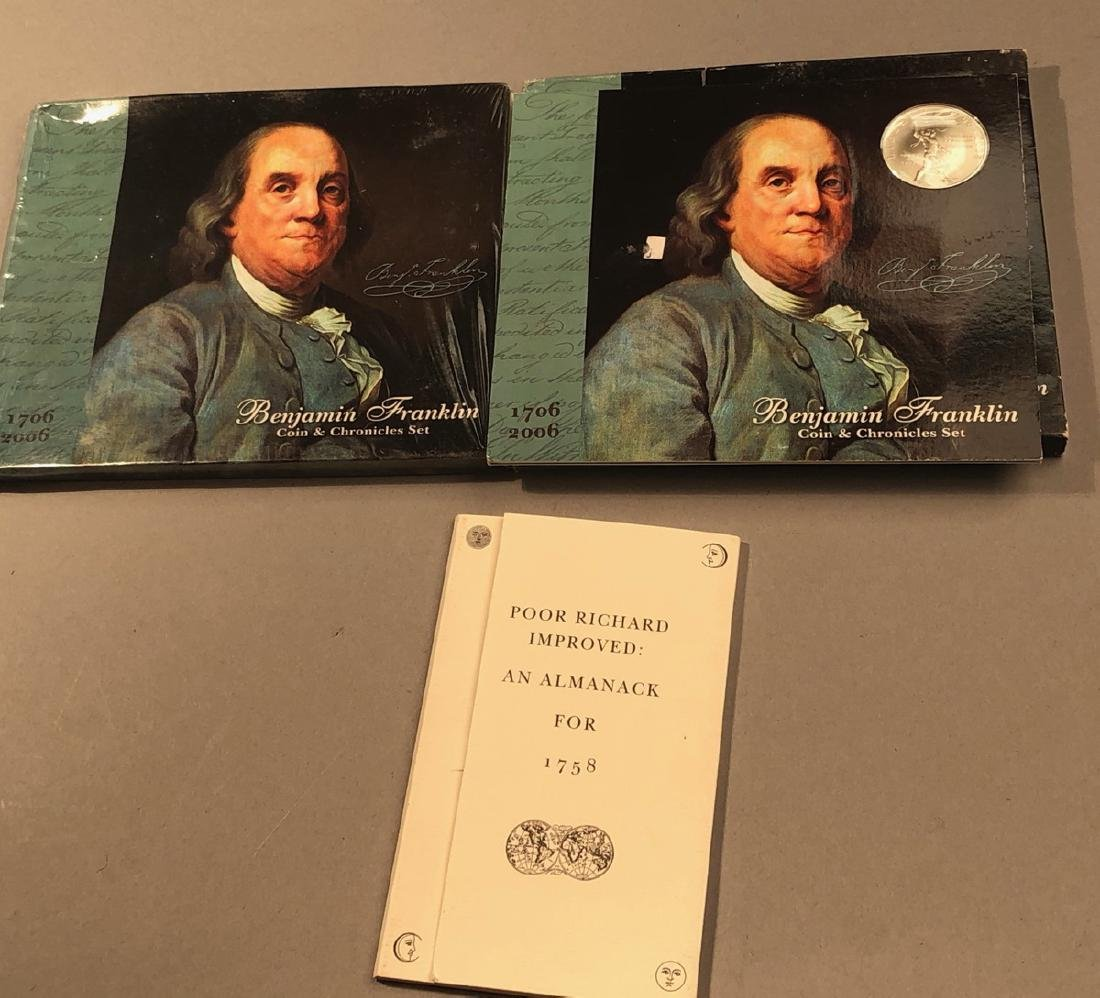2 Ben Franklin Chronicles Coin Sets