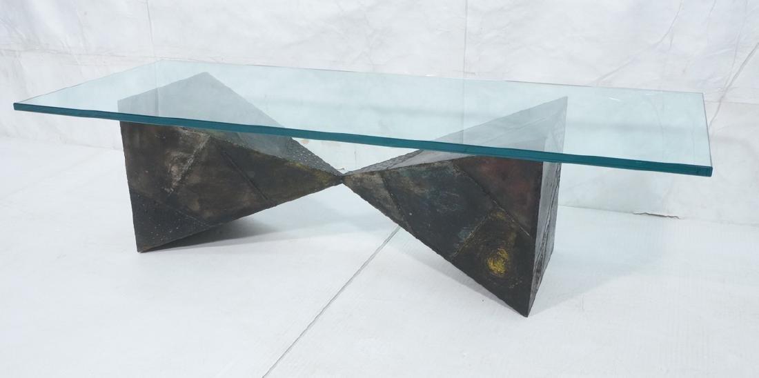 PAUL EVANS 67 Welded Steel Coffee Table. Modernis