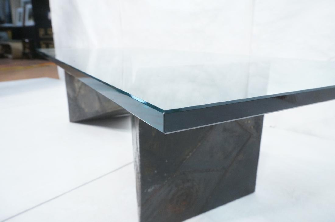 PAUL EVANS 67 Welded Steel Coffee Table. Modernis - 4