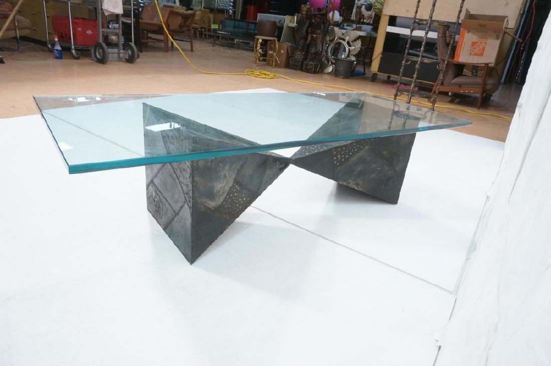 PAUL EVANS 67 Welded Steel Coffee Table. Modernis - 7