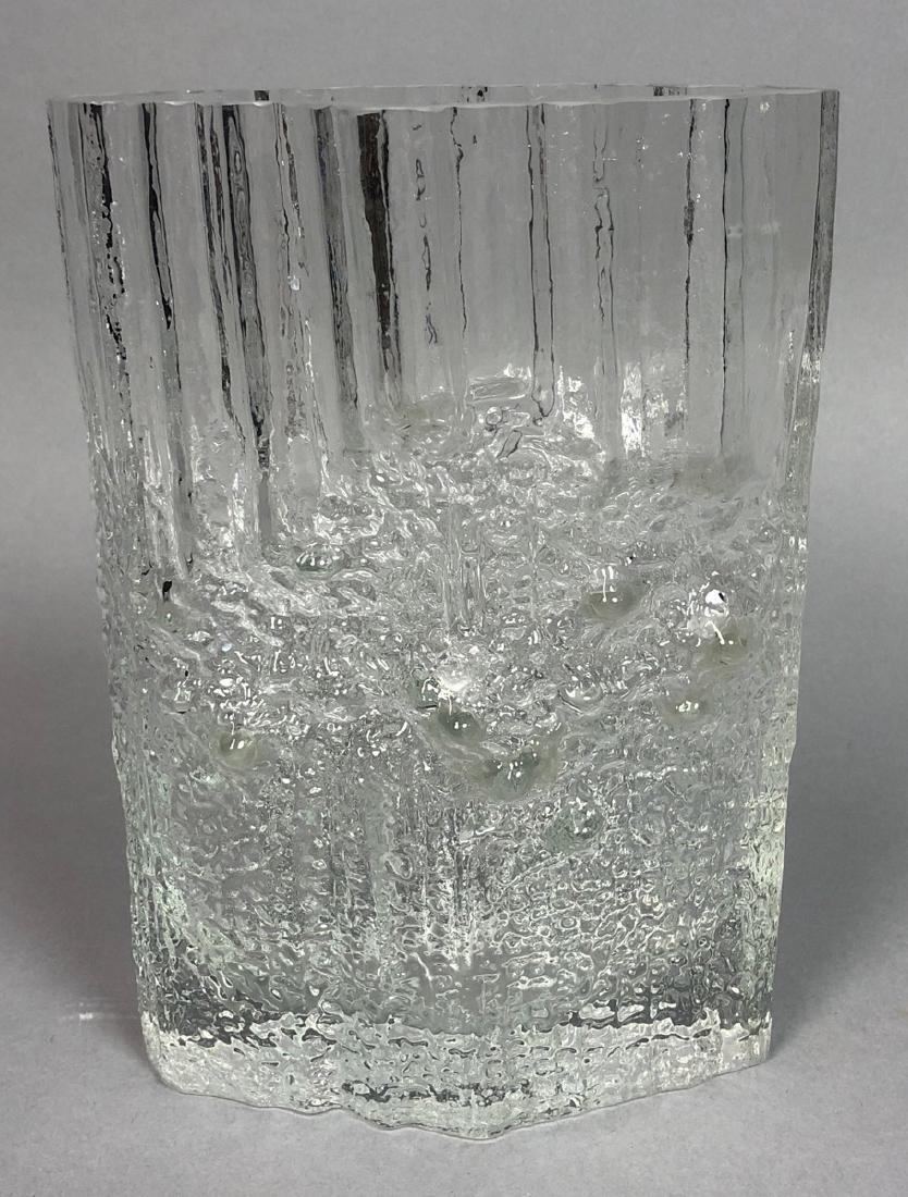TAPIO WIRKKALA Finnish Art Glass Vase. IITTALA, F