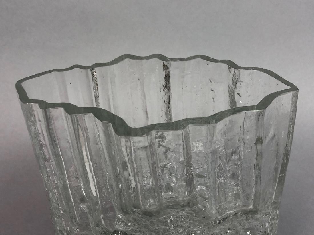 TAPIO WIRKKALA Finnish Art Glass Vase. IITTALA, F - 2