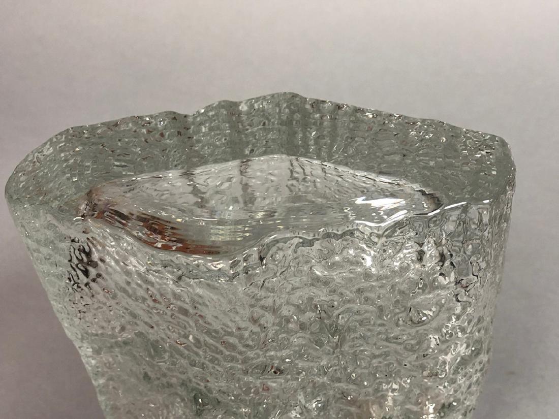 TAPIO WIRKKALA Finnish Art Glass Vase. IITTALA, F - 4