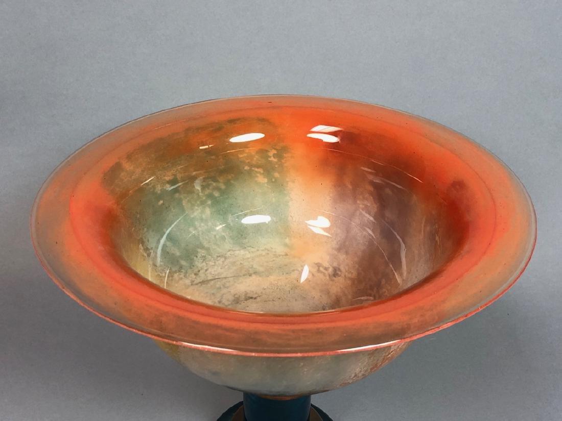 KOSTA BODA by KJELL ENGMAN Glass Compote. Large m - 2