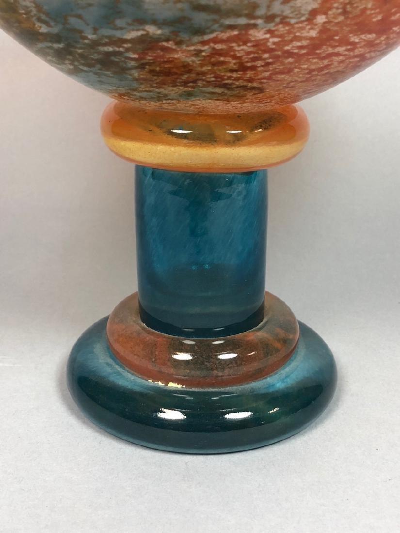 KOSTA BODA by KJELL ENGMAN Glass Compote. Large m - 3