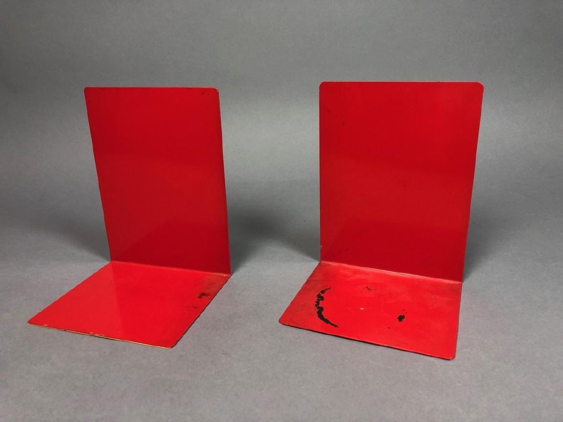 Pr PIERO FORNASETTI Modern Design Book Ends. Cinn - 2