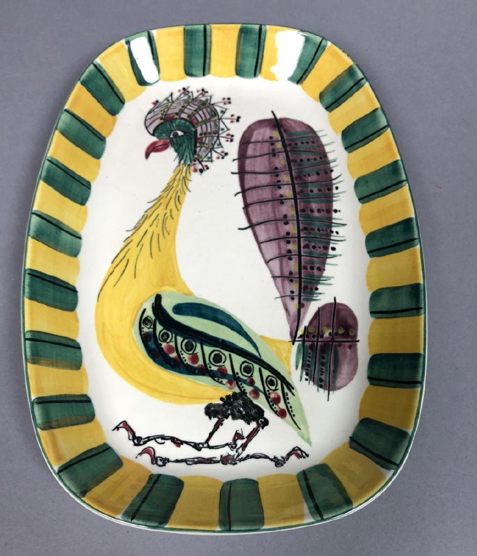 "ROYAL COPENHAGEN Denmark Ceramic Bird Dish. ""FAJA"