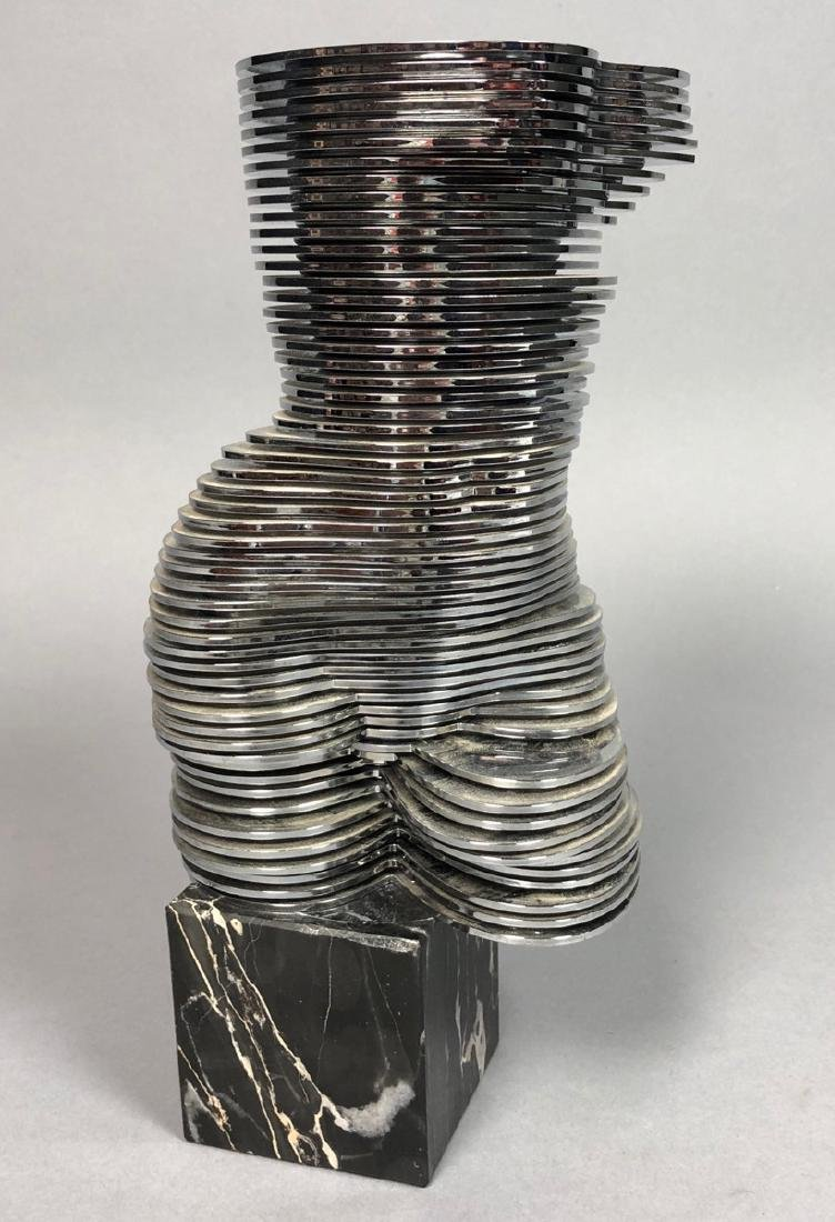 Eva OTTO MONESTIER Kinetic Female Nude Sculptur